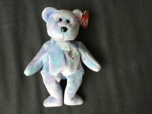 Ty Beanie Baby ISSY the Four Seasons bear Mexico City