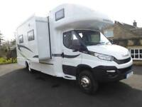 RS Motorhomes Endeavour 6 berth electric slide out motorhome for sale ref;13081