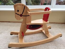 Pintoy Wooden Rocking Horse