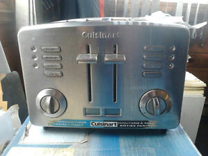 For Sale:  Stainless 4-slice Cuisinart Toaster