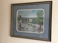 Framed Glass Fronted Picture