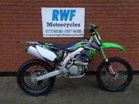 Kawasaki KXF 450 F, KX 450, 2013 MODEL, EXCELLENT COND, LOTS OF EXTRAS