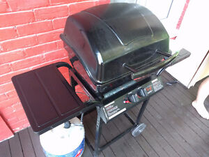 BBQ 2yrs old with tank and cover - free delivery