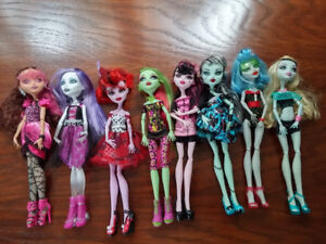Monster High Dolls in Excellent Condition