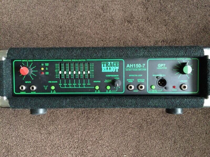 trace elliot ah150 7 bass head amplifier 150watt in maidstone kent gumtree. Black Bedroom Furniture Sets. Home Design Ideas