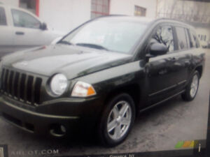 2008 Jeep Compass base SUV, Crossover