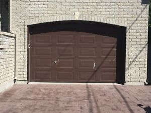 Garage door 8x12 feet