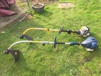 2 x petrol trimmers