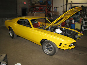 Classic and Muscle car restoration and repair