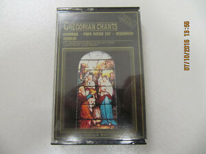 Digitally Mastered GregorianChants Audiocassette By Jules Dupont
