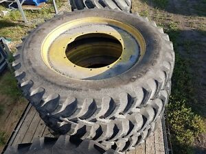 380/105R50 JD Tires and Rims Strathcona County Edmonton Area image 1