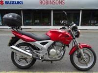 2004 04 Reg Honda CBF250 5325 miles topbox