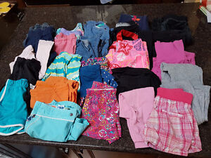 Girl's Bottoms - Shorts, Skirts, Pants - Size 8 Years - 25 Piece