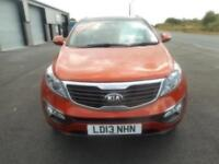 KIA SPOTAGE AWD DIESEL AUTO KX3 NEW MODEL 5 DOOR 13 PLATE 96000 MILES