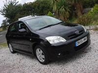2005 55 PLATE Toyota Corolla 1.6 VVT-i Colour Collection 5dr Automatic
