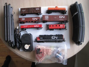 SET DE TRAIN BACHMAN 6 WAGONS +LOCOMOTIVE++