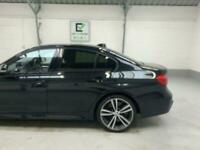 BLACK BMW 3 SERIES 2.0 320D M SPORT 4D DIESEL *buy now from £73 per week*