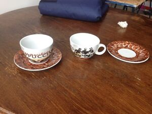 Cappuccino set and misc mugs London Ontario image 1