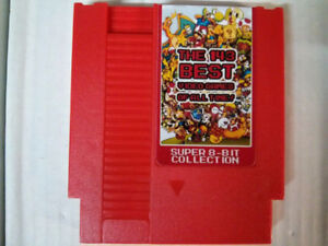 143 in 1 game for the NES  Games include : Contra, Castlevania,