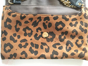 "J CREW Leopard SUEDE ""Invitation"" Envelope CLUTCH/CROSSBODY London Ontario image 7"