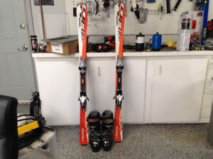 Skis in great shape. Only used once.