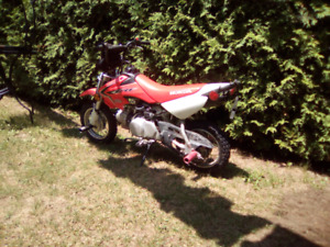 Moto hors route