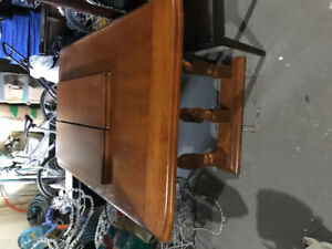 LARGE DINING TABLE SOLID WOOD