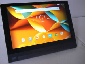 "Lenovo YOGA TAB 3 10.1"" integrated Stand Quad Core 16gb SSD"