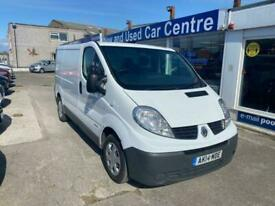 2014 14 RENAULT TRAFIC 2.0 SL27 DCI S/R P/V EXTRA 115 BHP DIESEL WHITE MANUAL AC