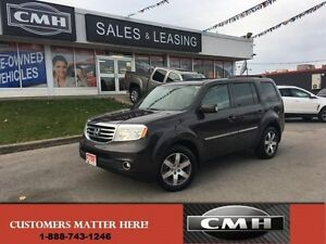 2013 Honda Pilot Touring   4X4 NAV ROOF CAM LEATHER *CERTIFIED*