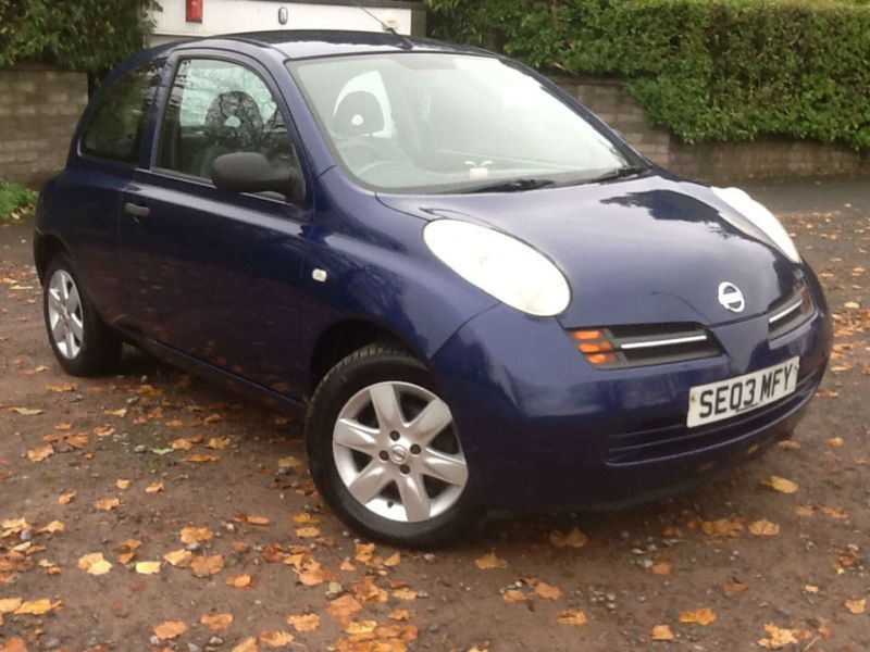 nissan micra 1 0 e 2003 long mot ideal first small car low mileage in newport gumtree. Black Bedroom Furniture Sets. Home Design Ideas