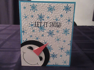 Frosty the Snowman Stampin' Up! Card class Kitchener / Waterloo Kitchener Area image 1