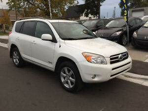 2007 Toyota RAV4 Limited, 7 PASSENGER, LEATHER, NO ACCIDENTS