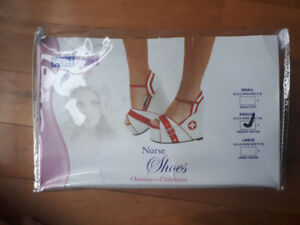 Secret Wishes Nurse Heels - two sizes available