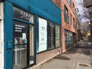 Commercial Space St. Henri - Notre Dame - Many Possibilities!