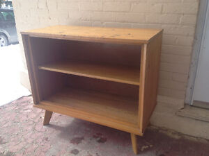 Retro 1950s solid hardwood cupboard