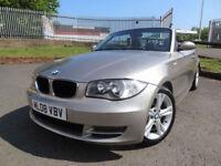 2008 BMW 120 2.0i SE Cabriolet - Only 58000mls Service Hist - KMT Cars