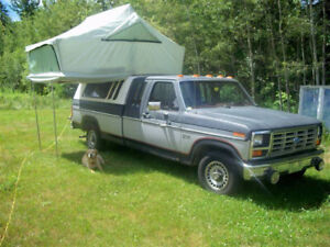 1985 Ford F-150 Extended Cab Pickup Truck