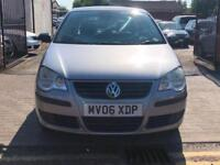 Volkswagen Polo 1.2 2006 5 door, MOT May 2019