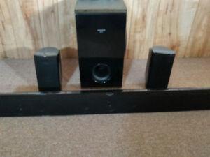 Aquos (Sharp) surround sound speakers
