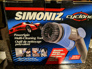 Simoniz Cyclone PowerSpin - Multi Cleaning Tool