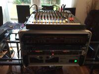 Disco & Karaoke Equipment with Lights & Discs