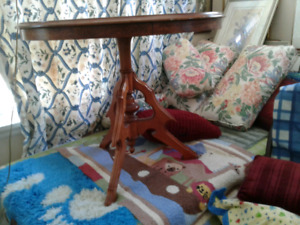 ANTIQUE Collectible table, solid wood.