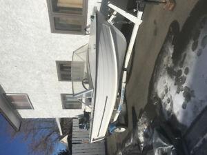 15 ft boat motor and kicker