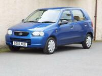 SUZUKI ALTO 1.1 GL 2006 06 reg 5 DOOR MOT ONE YEAR £30 ROAD TAX 46470 MILES