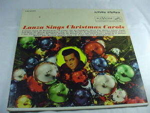 Mario Lanza-Christmas Carols-Pristine RCA Red Seal LP/VINYL +