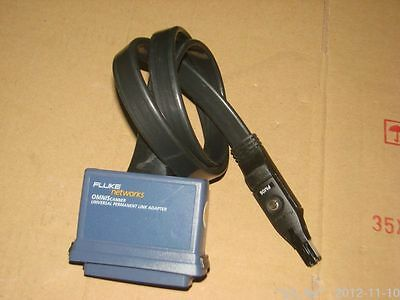 Used Fluke Microscan Omniscanner Universal Permanent Link Adapter W Pm06 Plug