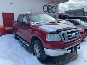 2008 Ford F-150 4X4 with tonneau cover