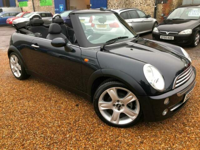 2005 55 Mini Cabriolet 16 Petrol Manual Convertible Sporty Px