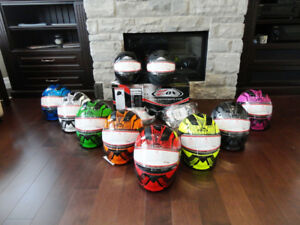 "Zox Brigade SVS Snow ""Skratch"" Modular Helmets in various Colour"